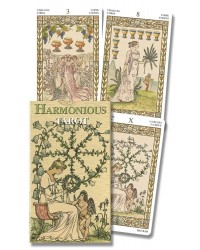 Harmonious Mini Tarot Deck of Lady Victorian Westwood Mystic Convergence Metaphysical Supplies Metaphysical Supplies, Pagan Jewelry, Witchcraft Supply, New Age Spiritual Store
