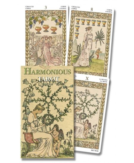 Harmonious Mini Tarot Deck of Lady Victorian Westwood at Mystic Convergence Metaphysical Supplies, Metaphysical Supplies, Pagan Jewelry, Witchcraft Supply, New Age Spiritual Store