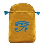 Eye of Horus Satin Bag at Mystic Convergence Metaphysical Supplies, Metaphysical Supplies, Pagan Jewelry, Witchcraft Supply, New Age Spiritual Store