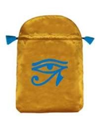 Eye of Horus Satin Bag Mystic Convergence Metaphysical Supplies Metaphysical Supplies, Pagan Jewelry, Witchcraft Supply, New Age Spiritual Store