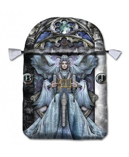 Illuminati Satin Bag at Mystic Convergence Metaphysical Supplies, Metaphysical Supplies, Pagan Jewelry, Witchcraft Supply, New Age Spiritual Store