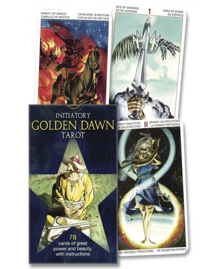 Initiatory Tarot of the Golden Dawn Deck at Mystic Convergence Metaphysical Supplies, Metaphysical Supplies, Pagan Jewelry, Witchcraft Supply, New Age Spiritual Store