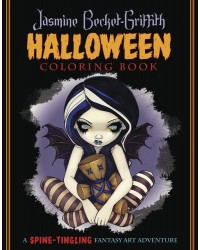 Jasmine Becket-Griffith Halloween Coloring Book Mystic Convergence Metaphysical Supplies Metaphysical Supplies, Pagan Jewelry, Witchcraft Supply, New Age Spiritual Store
