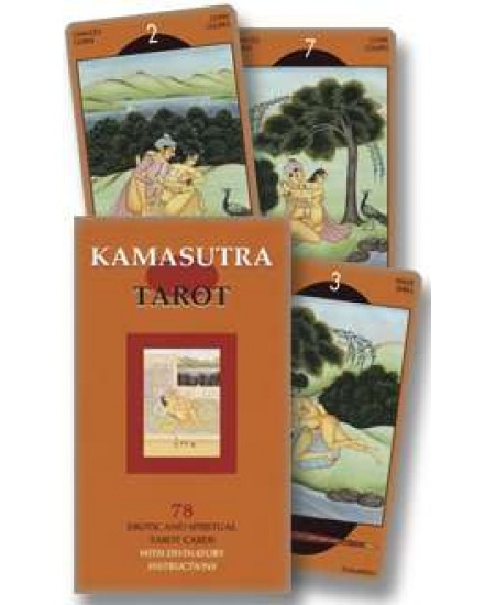 Kamasutra Adult Themed Tarot Cards at Mystic Convergence Metaphysical Supplies, Metaphysical Supplies, Pagan Jewelry, Witchcraft Supply, New Age Spiritual Store