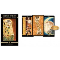 Golden Tarot of Klimt Mini Tarot Deck