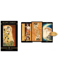 Golden Tarot of Klimt Mini Tarot Deck Mystic Convergence Magical Supplies Wiccan Supplies, Pagan Jewelry, Witchcraft Supplies, New Age Store