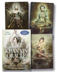 Kuan Yin Oracle Cards (Pocket Edition) Mystic Convergence Metaphysical Supplies Metaphysical Supplies, Pagan Jewelry, Witchcraft Supply, New Age Spiritual Store