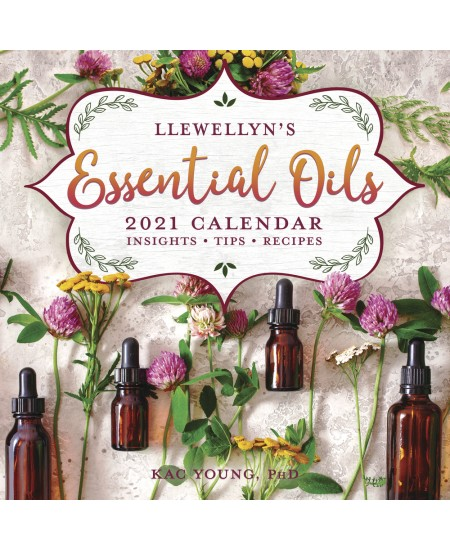 Llewellyn's 2021 Essential Oils Calendar at Mystic Convergence Metaphysical Supplies, Metaphysical Supplies, Pagan Jewelry, Witchcraft Supply, New Age Spiritual Store