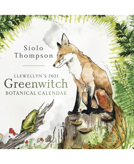 Llewellyn's 2021 Greenwitch Botanical Calendar at Mystic Convergence Metaphysical Supplies, Metaphysical Supplies, Pagan Jewelry, Witchcraft Supply, New Age Spiritual Store