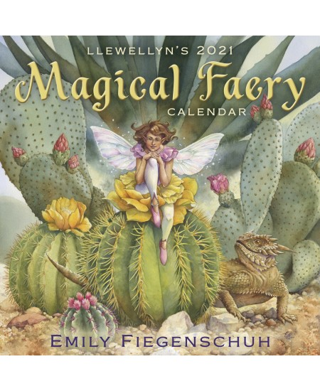 Llewellyn's 2021 Magical Faery Calendar at Mystic Convergence Metaphysical Supplies, Metaphysical Supplies, Pagan Jewelry, Witchcraft Supply, New Age Spiritual Store
