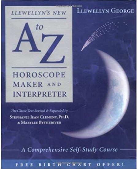 Llewellyn's New A to Z Horoscope Maker and Interpreter at Mystic Convergence Metaphysical Supplies, Metaphysical Supplies, Pagan Jewelry, Witchcraft Supply, New Age Spiritual Store