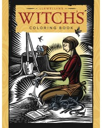 Llewellyn's Witch's Coloring Book Mystic Convergence Metaphysical Supplies Metaphysical Supplies, Pagan Jewelry, Witchcraft Supply, New Age Spiritual Store