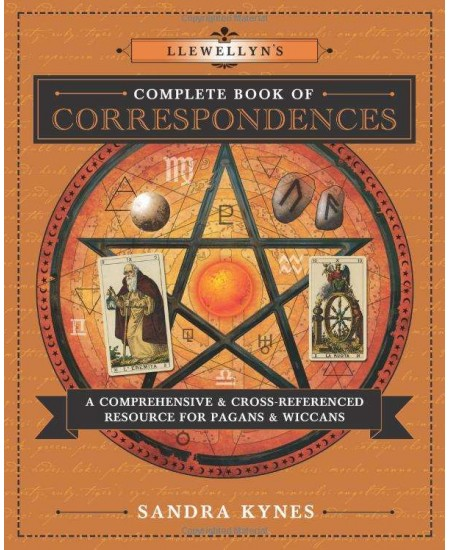 Llewellyn's Complete Book of Correspondences at Mystic Convergence Metaphysical Supplies, Metaphysical Supplies, Pagan Jewelry, Witchcraft Supply, New Age Spiritual Store