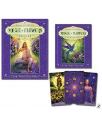 Magic of Flowers Oracle Boxed Set Mystic Convergence Metaphysical Supplies Metaphysical Supplies, Pagan Jewelry, Witchcraft Supply, New Age Spiritual Store