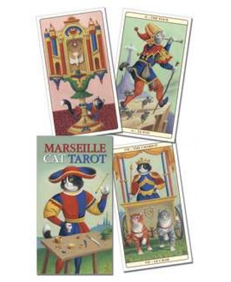 Marseille Cat Tarot Cards at Mystic Convergence Metaphysical Supplies, Metaphysical Supplies, Pagan Jewelry, Witchcraft Supply, New Age Spiritual Store