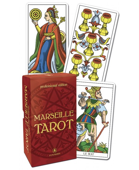 Marseille Tarot Cards Professional Edition at Mystic Convergence Metaphysical Supplies, Metaphysical Supplies, Pagan Jewelry, Witchcraft Supply, New Age Spiritual Store