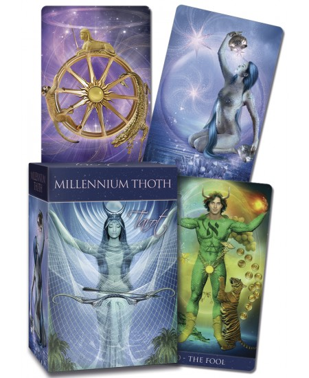 Millennium Thoth Tarot Cards at Mystic Convergence Metaphysical Supplies, Metaphysical Supplies, Pagan Jewelry, Witchcraft Supply, New Age Spiritual Store