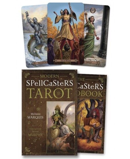 Modern Spellcaster's Tarot Cards at Mystic Convergence Metaphysical Supplies, Metaphysical Supplies, Pagan Jewelry, Witchcraft Supply, New Age Spiritual Store