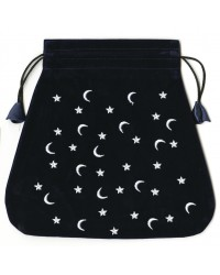 Moon and Stars Velvet Bag Mystic Convergence Metaphysical Supplies Metaphysical Supplies, Pagan Jewelry, Witchcraft Supply, New Age Spiritual Store