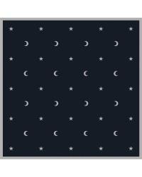 Moon & Stars Velvet Cloth