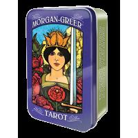 Morgan-Greer Mini Tarot Cards in a Tin