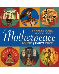 Motherpeace Round Tarot Cards Mystic Convergence Metaphysical Supplies Metaphysical Supplies, Pagan Jewelry, Witchcraft Supply, New Age Spiritual Store