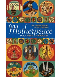 Motherpeace Round Tarot Cards Deck & Book Set Mystic Convergence Metaphysical Supplies Metaphysical Supplies, Pagan Jewelry, Witchcraft Supply, New Age Spiritual Store