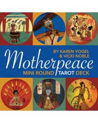Motherpeace Round Tarot Mini Cards Mystic Convergence Metaphysical Supplies Metaphysical Supplies, Pagan Jewelry, Witchcraft Supply, New Age Spiritual Store
