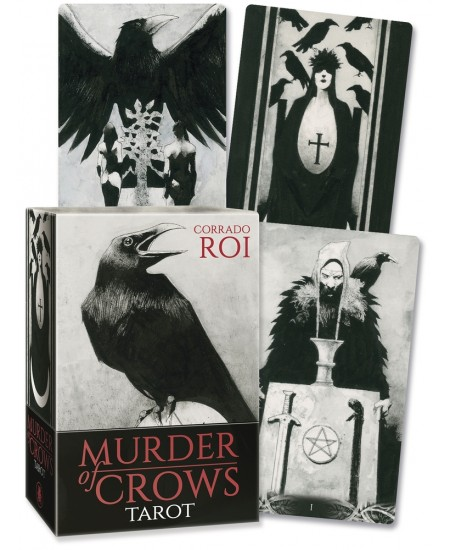 Murder of Crows Tarot Cards at Mystic Convergence Metaphysical Supplies, Metaphysical Supplies, Pagan Jewelry, Witchcraft Supply, New Age Spiritual Store