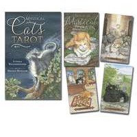Mystical Cats Tarot Card and Book Set
