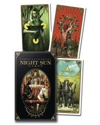 Night Sun Tarot Card Deck Mystic Convergence Metaphysical Supplies Metaphysical Supplies, Pagan Jewelry, Witchcraft Supply, New Age Spiritual Store