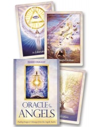 Oracle of the Angels Cards - Healing Messages from the Angelic Realm Mystic Convergence Metaphysical Supplies Metaphysical Supplies, Pagan Jewelry, Witchcraft Supply, New Age Spiritual Store