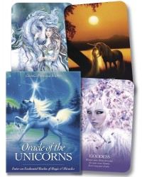 Oracle of the Unicorns Cards Mystic Convergence Metaphysical Supplies Metaphysical Supplies, Pagan Jewelry, Witchcraft Supply, New Age Spiritual Store