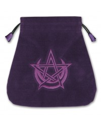 Pagan Moon Velvet Tarot Bag Mystic Convergence Metaphysical Supplies Metaphysical Supplies, Pagan Jewelry, Witchcraft Supply, New Age Spiritual Store