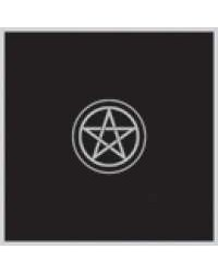 Pentacle Embroidered Black Velvet Cloth Mystic Convergence Wiccan Supplies, Pagan Jewelry, Witchcraft Supplies, New Age Store