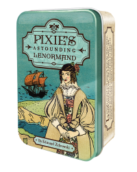 Pixie's Astounding Lenormand Cards in a Tin Mystic Convergence Metaphysical Supplies Metaphysical Supplies, Pagan Jewelry, Witchcraft Supply, New Age Spiritual Store