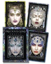 Precious Gems Oracle Cards Mystic Convergence Metaphysical Supplies Metaphysical Supplies, Pagan Jewelry, Witchcraft Supply, New Age Spiritual Store