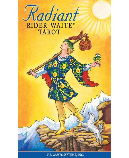 Radiant Rider Waite Tarot Cards at Mystic Convergence Metaphysical Supplies, Metaphysical Supplies, Pagan Jewelry, Witchcraft Supply, New Age Spiritual Store
