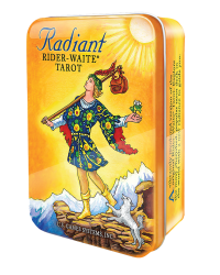 Radiant Rider Waite Tarot Cards in a Tin Mystic Convergence Metaphysical Supplies Metaphysical Supplies, Pagan Jewelry, Witchcraft Supply, New Age Spiritual Store
