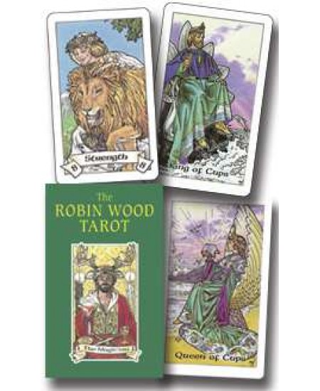 Robin Wood Tarot Cards at Mystic Convergence Metaphysical Supplies, Metaphysical Supplies, Pagan Jewelry, Witchcraft Supply, New Age Spiritual Store