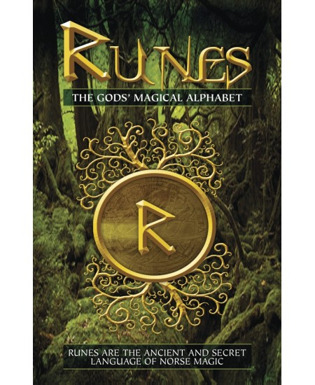 Runes: the Gods' Magical Alphabet Book at Mystic Convergence Metaphysical Supplies, Metaphysical Supplies, Pagan Jewelry, Witchcraft Supply, New Age Spiritual Store