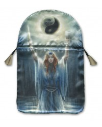 Sacred Priestess Printed Tarot Bag Mystic Convergence Metaphysical Supplies Metaphysical Supplies, Pagan Jewelry, Witchcraft Supply, New Age Spiritual Store