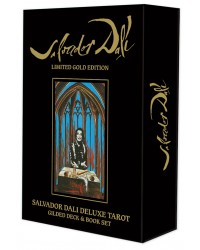 Salvador Dali Deluxe Tarot Cards: Gilded Deck & Book Set Mystic Convergence Metaphysical Supplies Metaphysical Supplies, Pagan Jewelry, Witchcraft Supply, New Age Spiritual Store