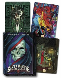 Santa Muerte Oracle Cards Mystic Convergence Metaphysical Supplies Metaphysical Supplies, Pagan Jewelry, Witchcraft Supply, New Age Spiritual Store