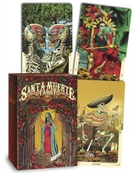 Santa Muerte Tarot Cards - Book of the Dead Mystic Convergence Metaphysical Supplies Metaphysical Supplies, Pagan Jewelry, Witchcraft Supply, New Age Spiritual Store