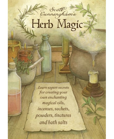 Scott Cunningham's Herb Magic DVD at Mystic Convergence Metaphysical Supplies, Metaphysical Supplies, Pagan Jewelry, Witchcraft Supply, New Age Spiritual Store