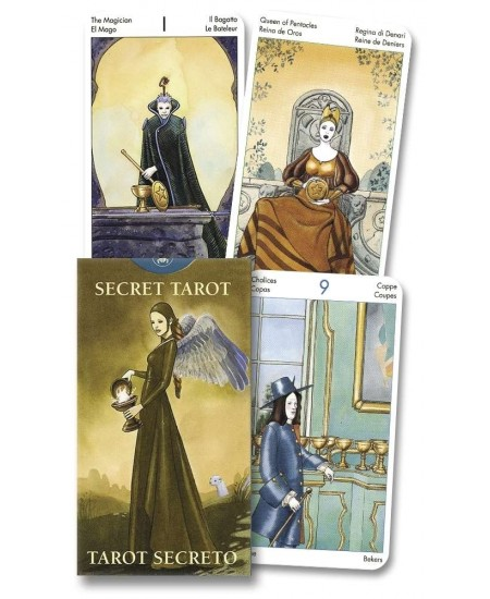 Secret Tarot Mini Cards at Mystic Convergence Metaphysical Supplies, Metaphysical Supplies, Pagan Jewelry, Witchcraft Supply, New Age Spiritual Store