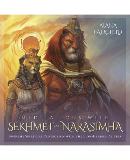 Meditations with Sekhmet and Narasimha CD at Mystic Convergence Metaphysical Supplies, Metaphysical Supplies, Pagan Jewelry, Witchcraft Supply, New Age Spiritual Store