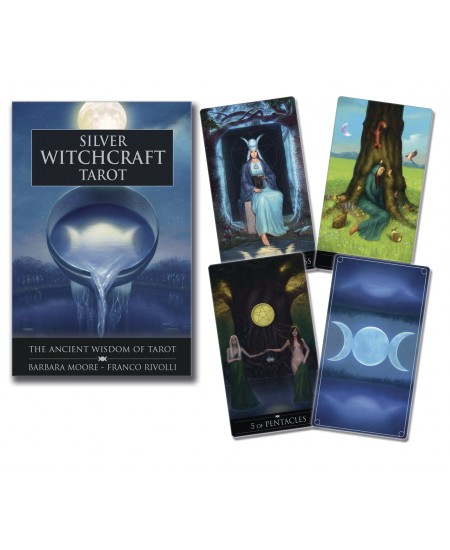 Silver Witchcraft Tarot Cards Kit at Mystic Convergence Metaphysical Supplies, Metaphysical Supplies, Pagan Jewelry, Witchcraft Supply, New Age Spiritual Store