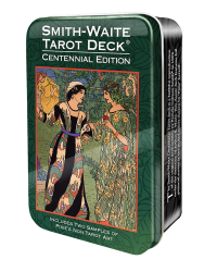 Smith-Waite Centennial Tarot Cards in a Tin Mystic Convergence Metaphysical Supplies Metaphysical Supplies, Pagan Jewelry, Witchcraft Supply, New Age Spiritual Store